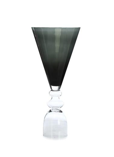 Abhika Abhika Rigo Coppa Geometrik Formlu Cam Vazo 101600292 Gri